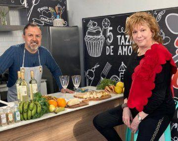 Ver en vivo La Cocina del Gato con Gustavo Sylvestre y Cecilia Rossetto
