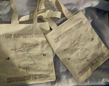 Encargó unas bolsas con motivo de La Novicia Rebelde y se las mandaron bordadas con un meme