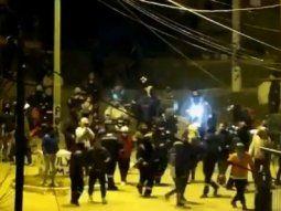 video: interna sindical en ensenada termino con un herido de bala
