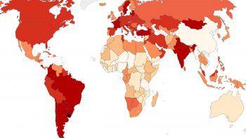 covid-19: uruguay tiene la mayor cantidad de muertes diarias por millon de habitantes