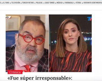 En Chile también hablaron de la confusión de Lanata y Cristina Pérez con las vacunas