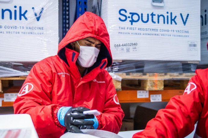 El Gobierno comenzó distribuir otras 494 mil dosis de la vacuna Sputnik V