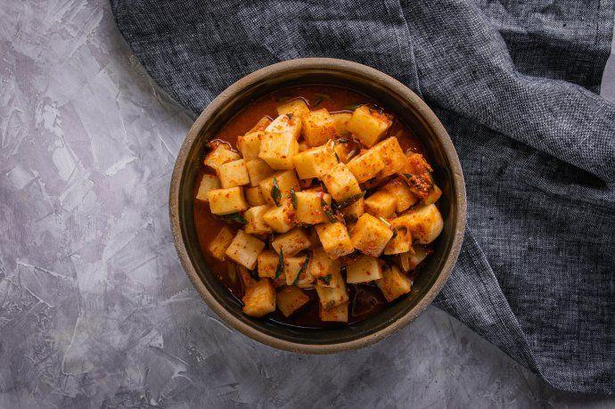 Kimchi de nabo