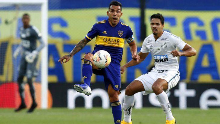 Boca recibe a Santos por la Copa Libertadores: horario, formaciones y TV