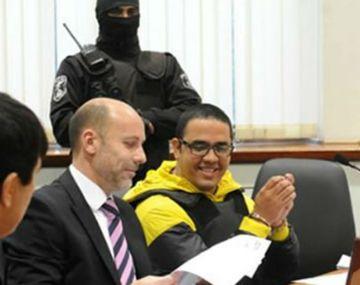 Ariel Guille Cantero, se ríe en prisión