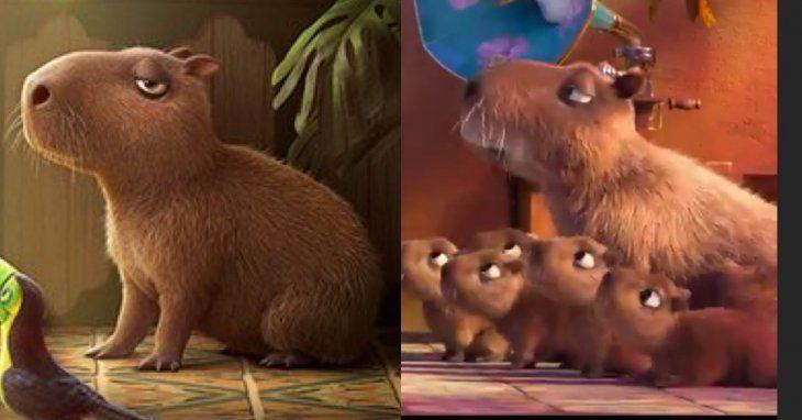 Disney estrenará una película protagonizada por un carpincho