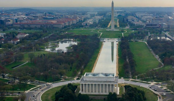 El National Mall en Washington, Estados Unidos