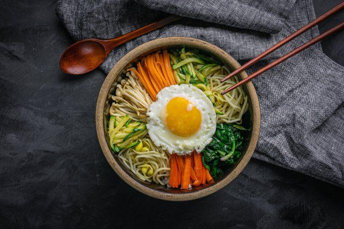 Cómo preparar bibimbap coreano