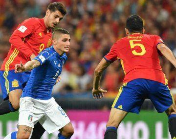 Ver en vivo por internet España vs. Italia por la Euro 2020
