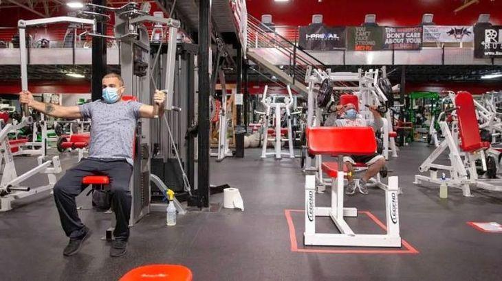 Vuelven abrir los gimnasios en Córdoba