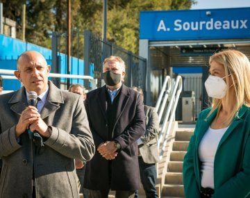 Inauguraron una estación del tren Belgrano Norte tras ser renovada