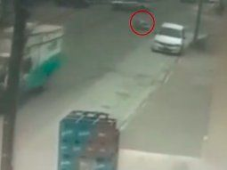 Una ambulancia perdió a un paciente en camilla durante un traslado