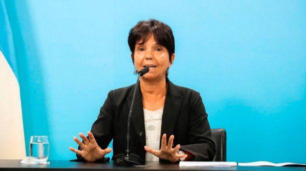 Mercedes Marcó del Pont, titular de la AFIP