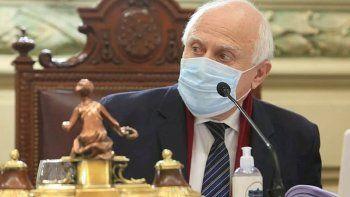 el ex gobernador miguel lifschitz presento un desmejoria clinica