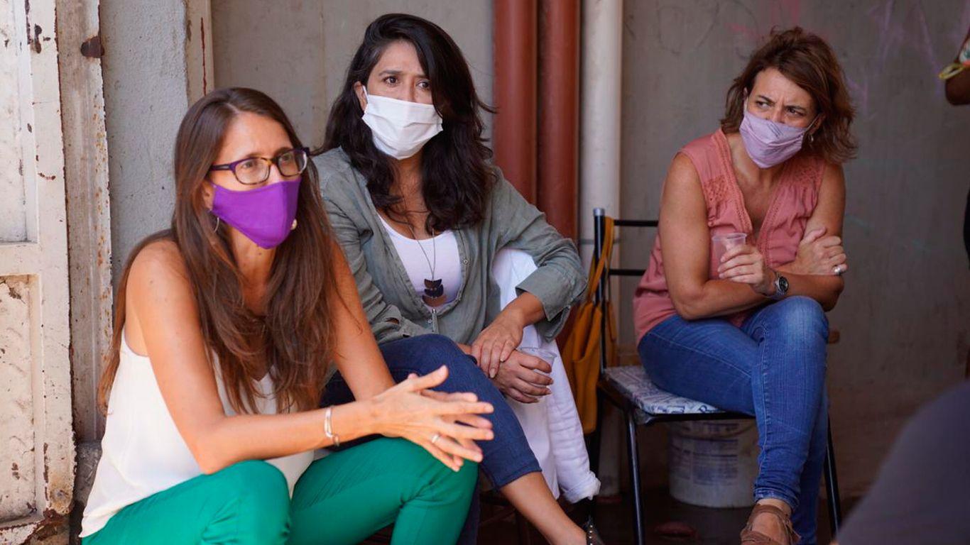 Gómez Alcorta se reunió con víctimas de violencia de género desalojadas por Policía de la Ciudad