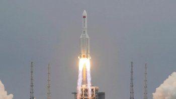 el cohete chino paso cerca de buenos aires