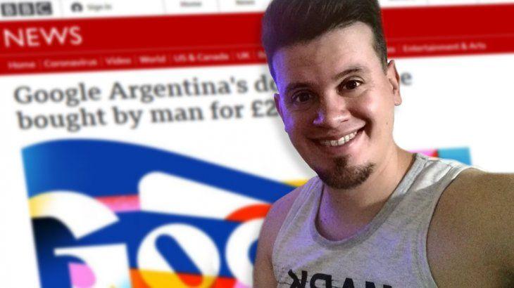 Nicolás Kuroña, el chico que compró Google Argentina, llegó a la BBC
