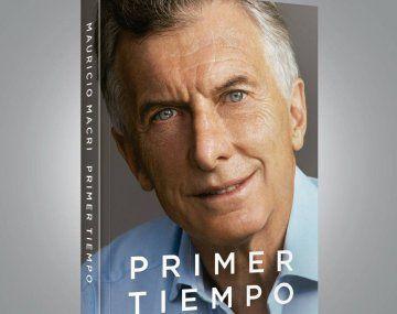 Mauricio Macri presenta oficialmente su libro Primer tiempo