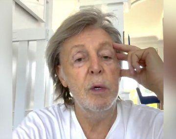 Paul McCartney despidió a Charlie Watts: Era firme como una roca