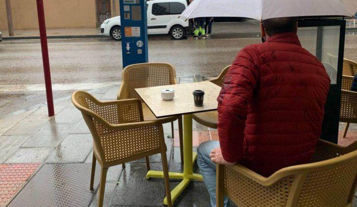 La lluvia le arruina el día a los gastronómicos