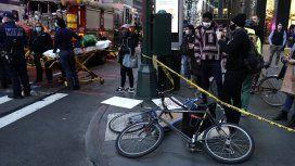 VIDEO: Una automovilista atropelló a varios manifestantes en Manhattan