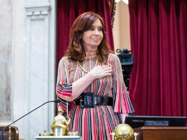 Se oficializó la renuncia de Cristina Kirchner a su sueldo de Vicepresidenta