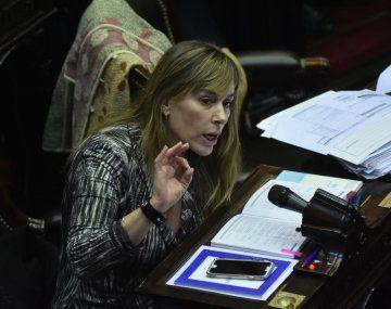 Juliana Di Tullio jura en reemplazo de Jorge Taiana en el Senado