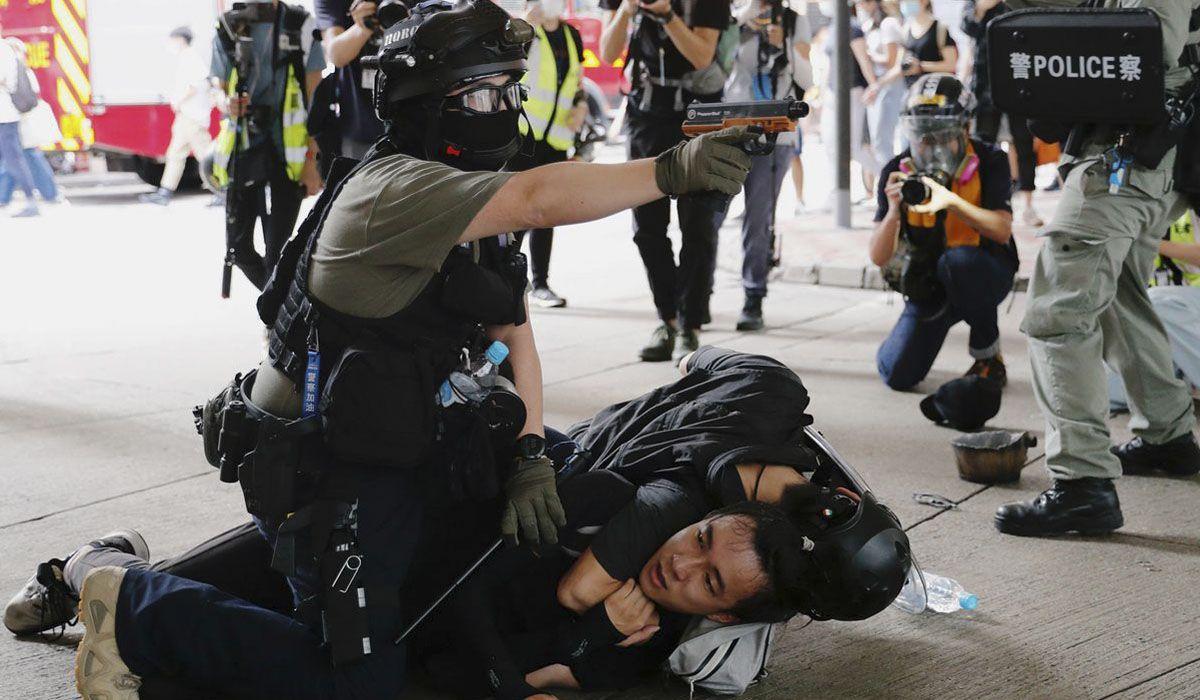 Hong kong: cientos de arrestos en el primer día de vigencia de la nueva Ley de Seguridad Nacional impuesta por China