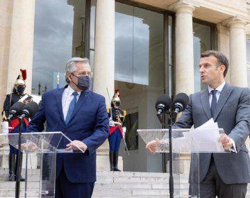 Francia manifestó su apoyo al país para la negociación con el FMI y el Club de París