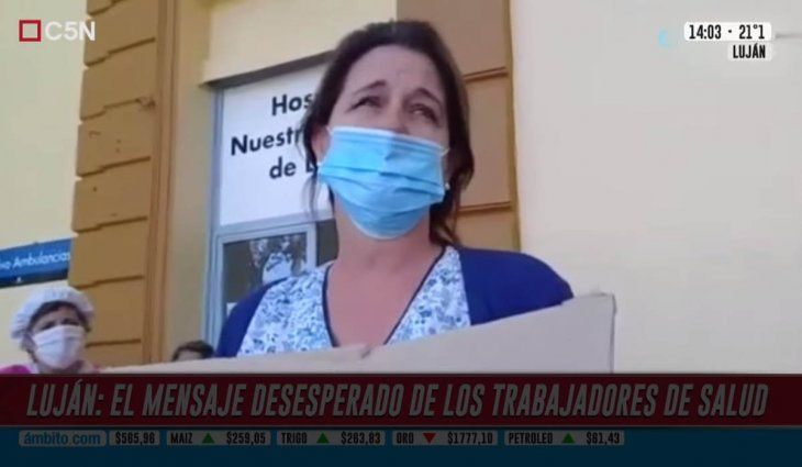 Coronavirus: decretaron el estado de emergencia en el Hospital de Luján