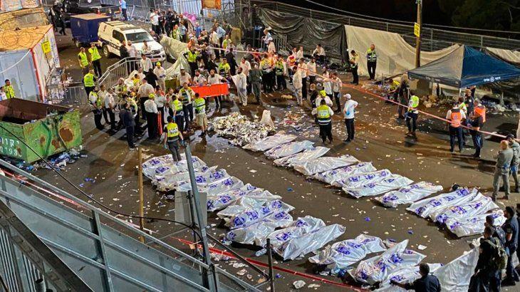 Estampida trágica en Israel: hay un argentino entre las víctimas fatales