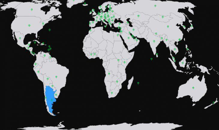 Mapa interactivo predice la inmunidad de rebaño en cada país