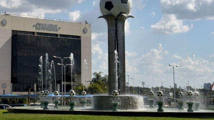 La sede de la Confederación Sudamericana deFútbol(Conmebol) en Luque