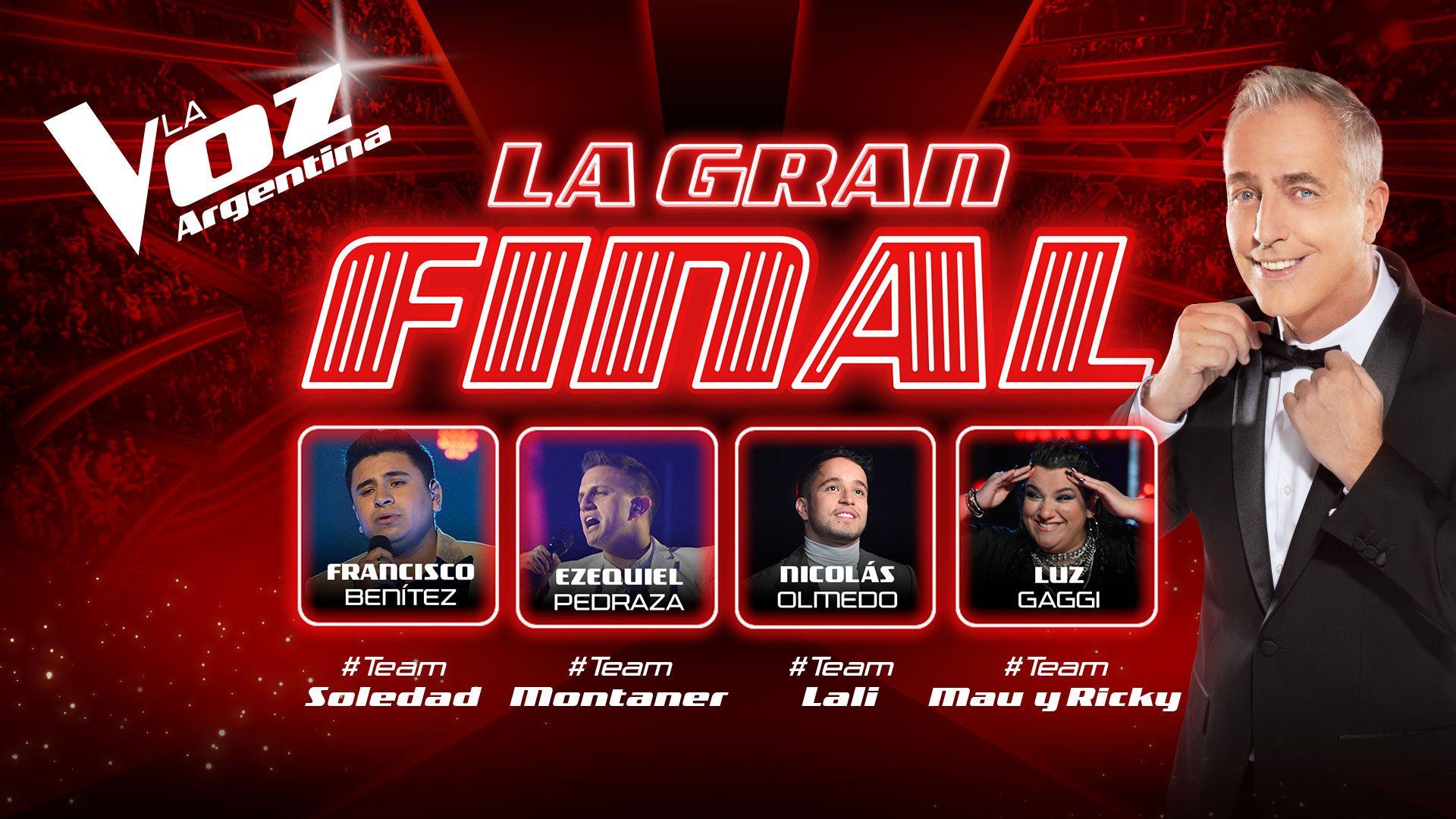 Ver en vivo la final de La Voz Argentina