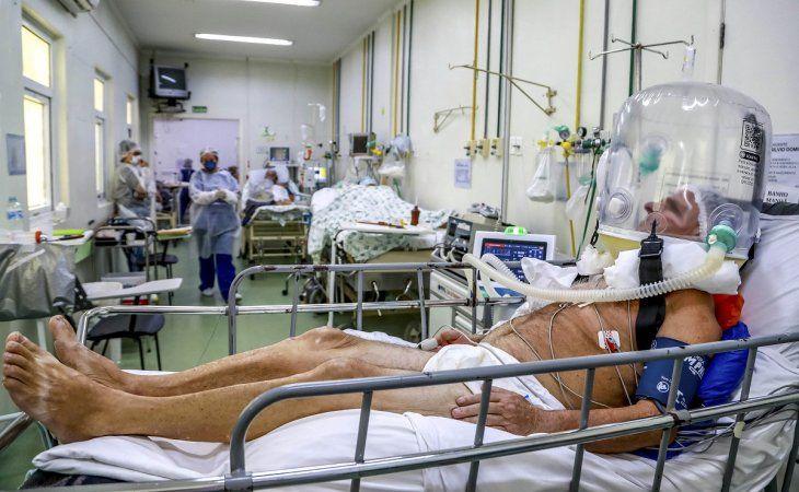 Río de Janeiro usa sedantes veterinarios para intubar a pacientes con covid