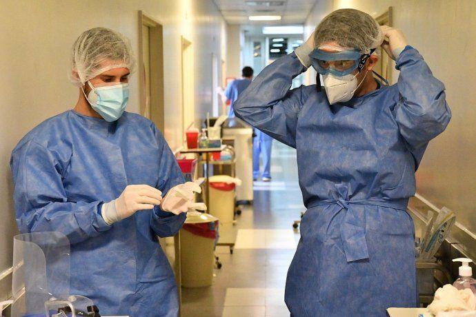 Casi el 95% del personal de salud está vacunado en la provincia de Buenos Aires