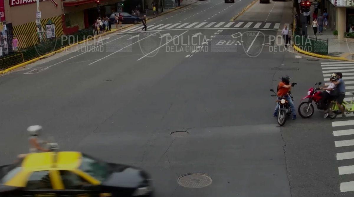 Miedo a la doctrina Chocobar: el mensaje viral del ciclista que atrapó a un motochorro