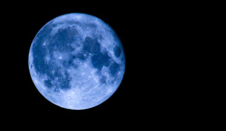Este sábado ocurrirá el fenómeno de la Luna azul