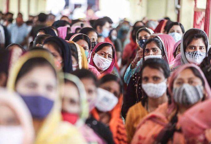 Coronavirus: Por quinto día consecutivo India marcó un nuevo récord mundial diario de contagios