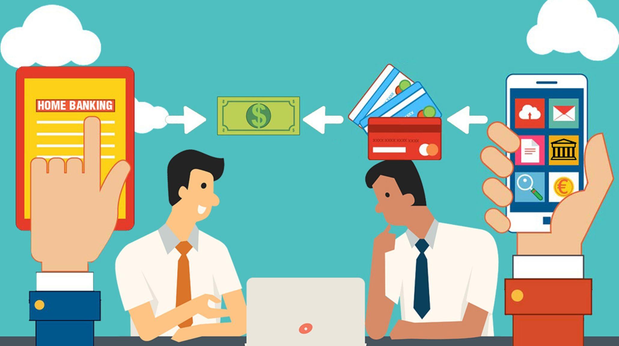 Gran alza del uso del dinero electrónico por el aislamiento
