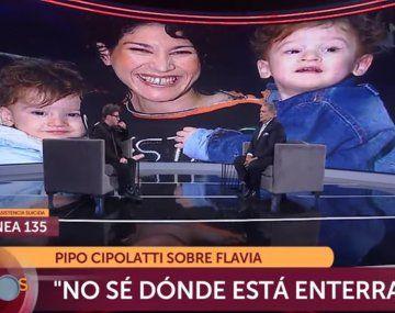 Pipo Cipolatti: No se ni dónde conocí a la madre de mis hijos ni dónde está enterrada