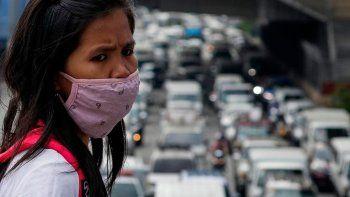 filipinas: ordenan llevar presos a los que usen mal el tapaboca