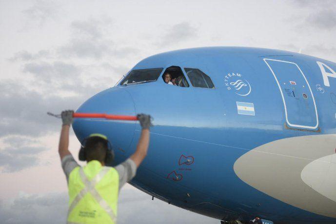 Partió hacia Beijing un nuevo vuelo de Aerolíneas Argentinas