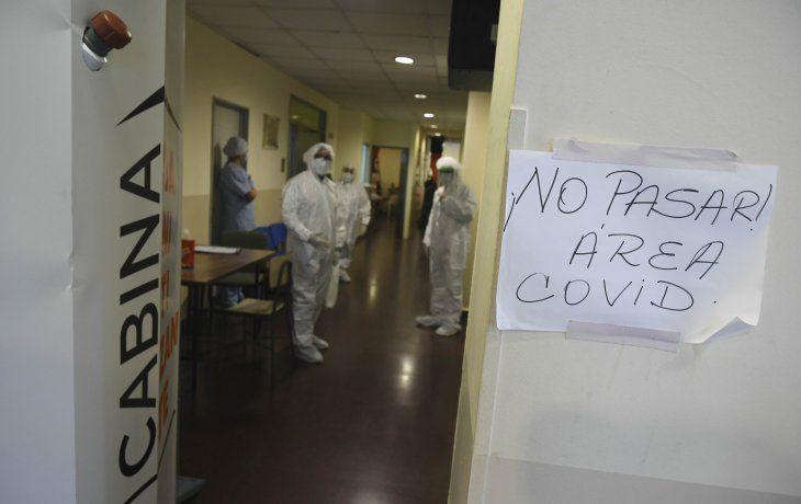 Se registró un nuevo récord de muertos por coronavirus en la Argentina