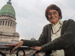 Alcira Argumedo fue diputada nacional por dos períodos (2009-2013 y 2013-2017) y murió a los 80 años producto de un cáncer de pulmón
