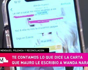 Se filtró el chat de la China Suárez con Wanda: hablan mal de Pampita