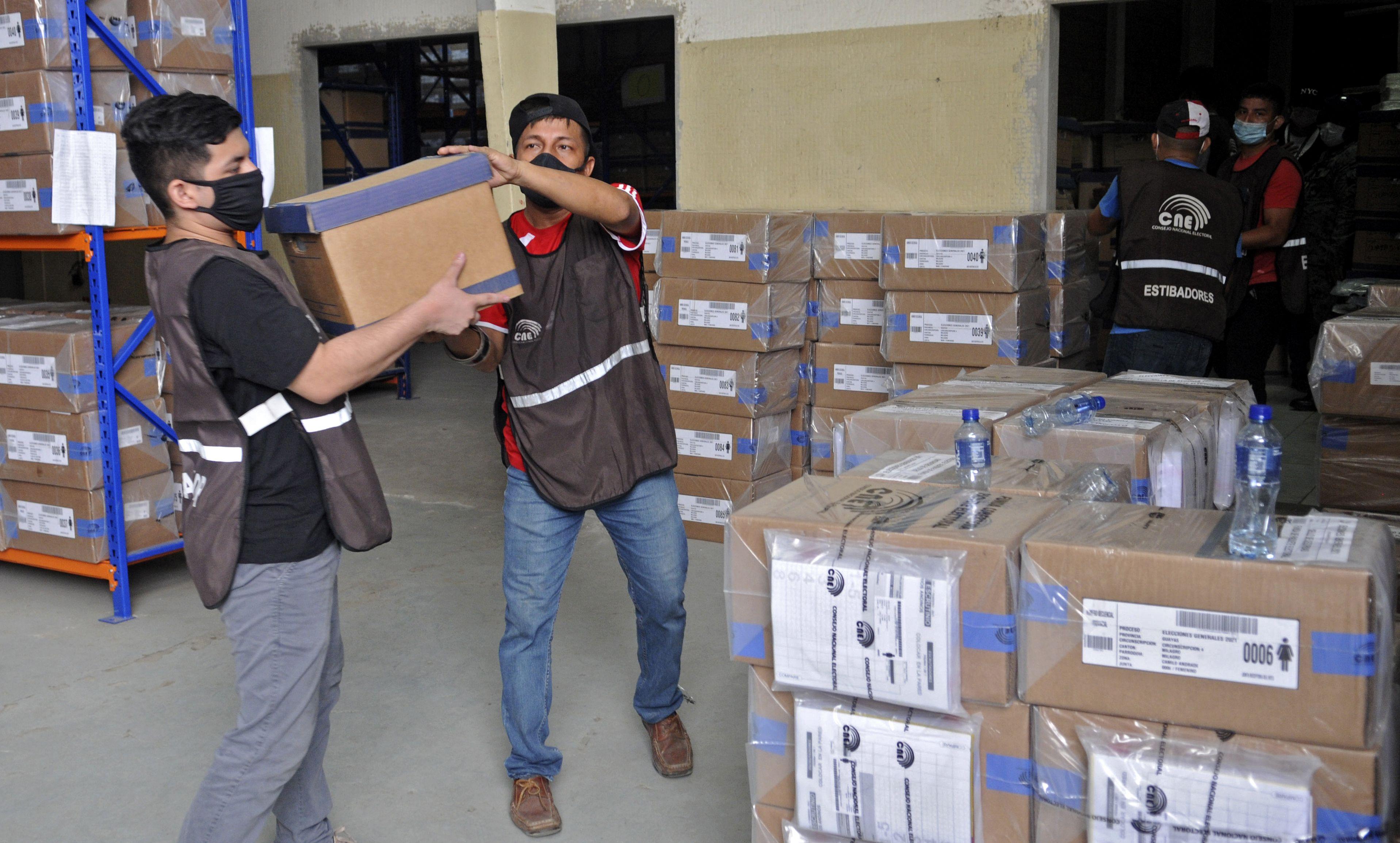 Se definió el balotaje en Ecuador: será entre Arauz y Lasso