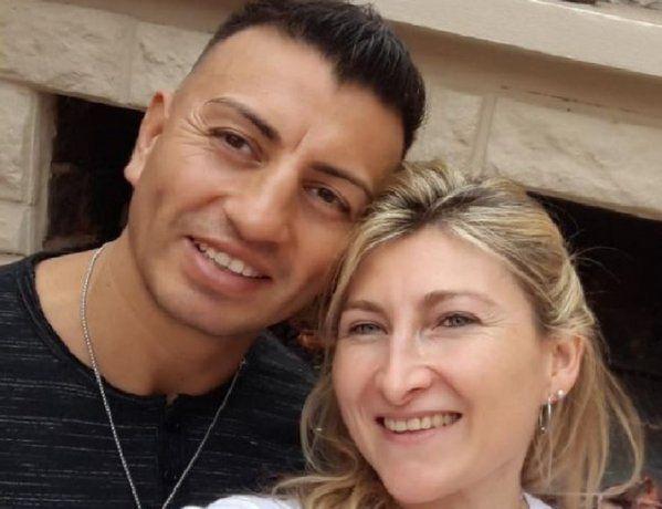 Analía Maldonado y Samuel Llanos