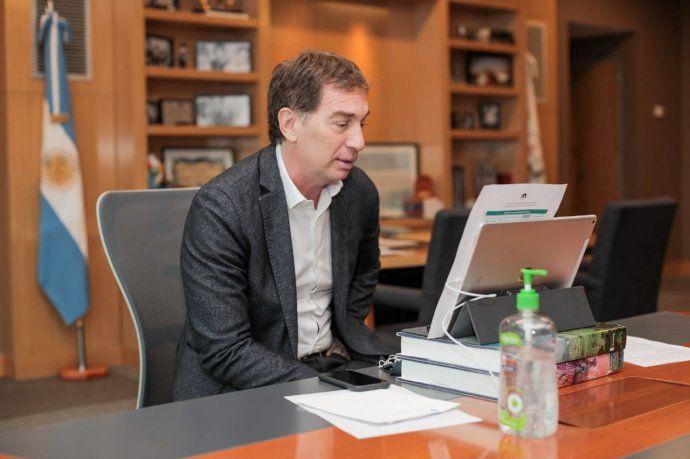 En enero, Diego Santilli aceptaba frenar las clases presenciales hasta por un mes