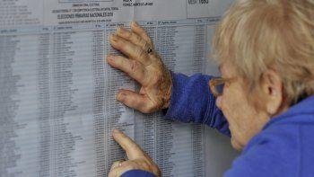 donde voto: ya se puede consultar el padron electoral provisorio